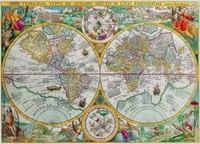 """Пазл """"историческая карта"""", 1500 элементов, Ravensburger"""