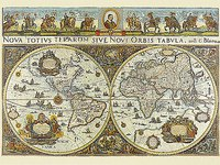 "Пазл ""карта мира 1665 года"", 3000 элементов, Ravensburger"