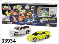 "Машинки металлические ""water racing transporter-1"" с грузовиком, Autotime"