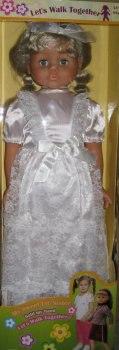 Кукла в свадебном платье (90 см), Lotus Onda