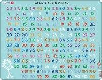 """Пазл """"умножение"""", 81 элемент, Larsen (игрушки)"""