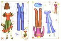 Бумажные куклы. никита и наташа