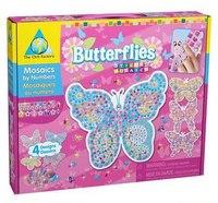 """Стикеровая мозаика """"бабочки"""", Orb Factory"""