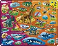 """Пазл """"динозавры"""" (85 элементов), Larsen (игрушки)"""