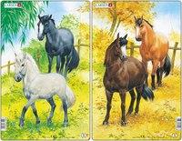 """Пазл """"лошади"""", Larsen (игрушки)"""