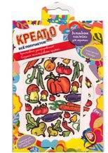 """Наклейки для керамики """"овощи и фрукты"""", Креатто"""