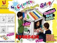 """Детский домик """"магазин"""". картонный конструктор, Shenzhen Jingyitian Trade Co., Ltd."""