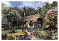 """Пазл """"коттедж роз, д.дэвисон"""" (1500 деталей), Educa"""