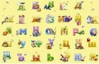 """Пазлы """"волшебный мир. веселый алфавит (развивающий)"""", 35 элементов (мега), Канц-Эксмо (Listoff, Unnika Land)"""