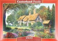 """Пазл-мозаика """"волшебный дом"""" (1500 элементов), Castorland"""