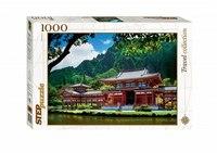 "Пазл ""гавайи. остров оаху. японская пагода"", 1000 элементов, Step Puzzle (Степ Пазл)"