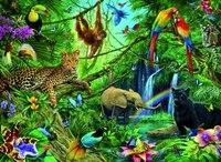 """Пазл """"звери в джунглях"""" (200 элементов), Ravensburger"""