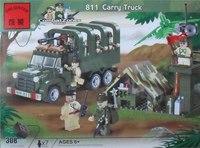 """Конструктор пластиковый """"грузовик"""", 308 деталей, ENLIGHTEN (Brick)"""