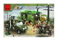 """Конструктор пластиковый """"вооружённые силы"""", 285 деталей, ENLIGHTEN (Brick)"""