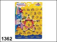 "Магнитный конструктор ""фигуры 2"", Пирамида открытий (Kribly Boo)"