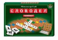 """Настольная игра в слова """"словодел"""". компакт, Десятое королевство"""