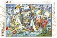 """Пазл """"всем в море!"""", 1500 элементов, Step Puzzle (Степ Пазл)"""