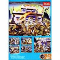 """Конструктор """"римский замок"""" (496 деталей), COGO"""