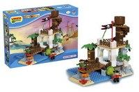 """Конструктор """"пиратская смотровая башня"""", 116 деталей, Androni Giocattoli (Unico)"""