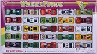 """Набор металлических машин """"wheel force"""" (25 штук), Shenzhen Jingyitian Trade Co., Ltd."""