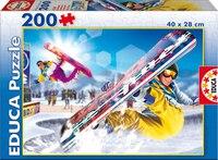 """Пазл """"сноубординг"""" (200 элементов), Educa"""