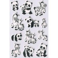 """Наклейки """"панда и зебра"""", Herma"""