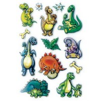 """Наклейки """"динозаврики 3d"""", Herma"""