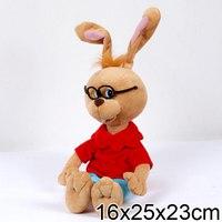 Кролик в очках, озвученный (25 см), Мульти-Пульти