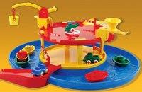 "Мультинабор ""2-уровневый гараж с гаванью"", Viking Toys"
