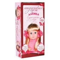 """Интерактивная кукла """"аленка"""", Карапуз (товары для детей и игрушки)"""