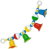 Погремушка-подвеска с шариками и колокольчиками, Стеллар
