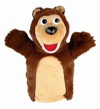 """Мягкая игрушка на руку """"медведь"""", 27 см, Мульти-Пульти"""