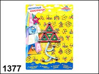 "Магнитный конструктор ""фигуры 3"", Пирамида открытий (Kribly Boo)"