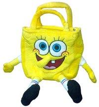 """Мягкая игрушка - сумка """"губка боб"""", 20 см, Мульти-Пульти"""