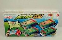 Игра настольная 4 в 1: боулинг, футбол, баскетбол, гольф, Shantou Gepai