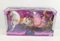 Карета с лошадью, принцесса, аксессуары, Shantou Gepai
