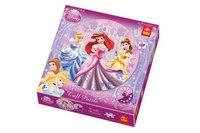 Круглый пазл «три принцессы», 150 деталей, Trefl