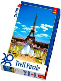 Пазл «эйфелева башня», 2000 деталей, Trefl