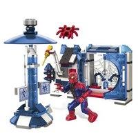 """Конструктор """"человек-паук и его лаборатория"""" (spider-man 4), Mega Brands (Mega Bloks)"""