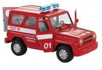 """Машинка инерционная """"джип пожарная охрана"""", Shantou Gepai"""