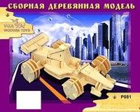 """Модель деревянная сборная """"гоночный болид"""", VGA (Wooden Toys)"""