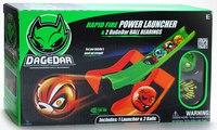 """Игровой набор """"пусковое устройство с двумя супербыстрыми шарами"""", DaGeDar"""