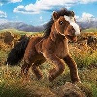 """Мягкая игрушка """"лошадь"""" (50 см), Folkmanis"""