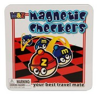 Шашки дорожные магнитные, Mack & Zack