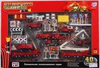 """Набор игровой """"пожарная техника"""", Play Smart (Joy Toy)"""