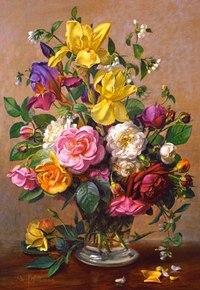"""Пазл """"летние цветы"""" (1500 элементов), Castorland"""