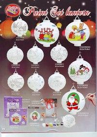 """Новогодний набор для творчества """"бумажный фонарь со снеговиком"""", Snowmen"""