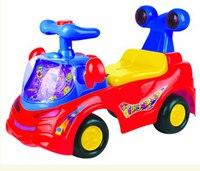 Каталка «веселая машинка», красная (3-6 лет), Chi lok BO toys