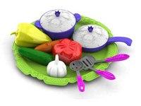 """Набор овощей и кухонной посуды """"волшебная хозяюшка"""", Нордпласт"""