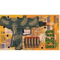 "Пистолет ""mini uzi"", с присосками. . арт. ht931-r, Играем вместе"